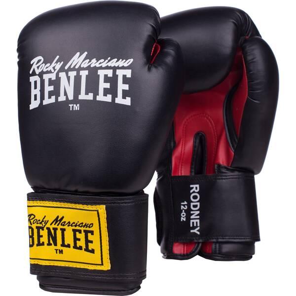 BENLEE Boxhandschuh aus Kunstleder RODNEY | Accessoires > Handschuhe > Lederhandschuhe | Black - Red | BEN LEE