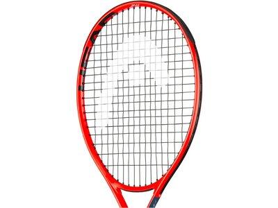 "HEAD Kinder Tennisschläger ""Radical Jr. 23"" - besaitet Rot"