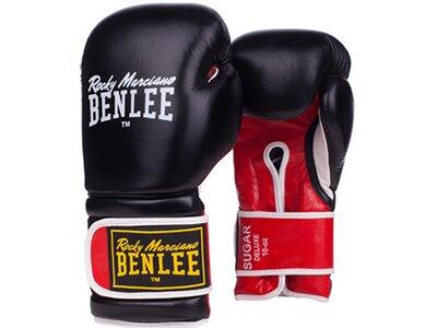 BENLEE Boxhandschuhe aus Leder SUGAR DELUXE Schwarz