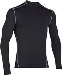 UNDERARMOUR Herren Kompressions-Mock-Shirt UA ColdGear Armour