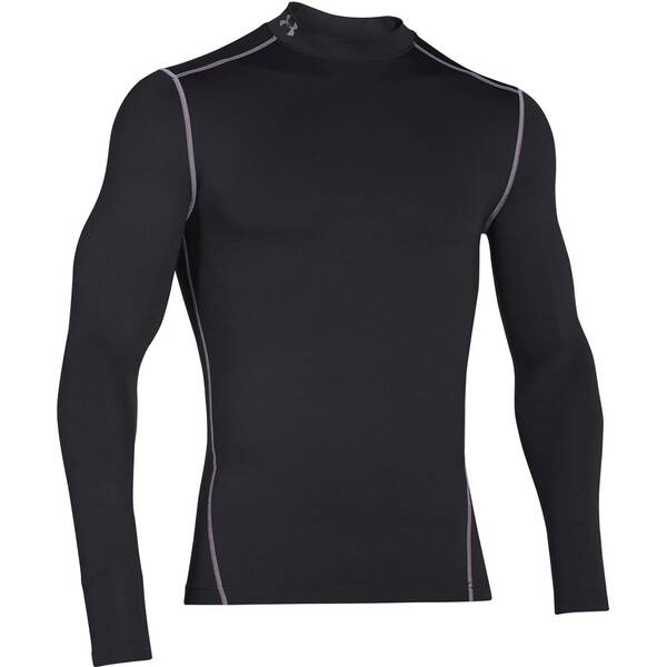 UNDERARMOUR Underwear - Langarm Coldgear Compression Mock