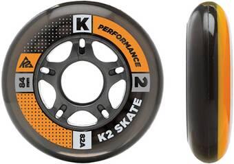 """K2 Inliner Rollen Set """"84 mm / 80 mm Wheel HI-LO 8 Pack"""""""