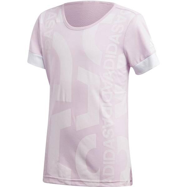 ADIDAS Mädchen Trainingsshirt ID Lineage Graphic Kurzarm