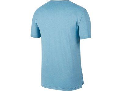 "NIKE Herren Trainingsshirt ""Mens Short-Sleeve Training Top"" Grau"