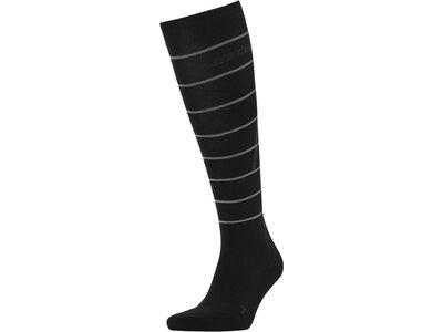 """CEP Herren Laufsport Socken """"Reflektive Compression"""" Schwarz"""