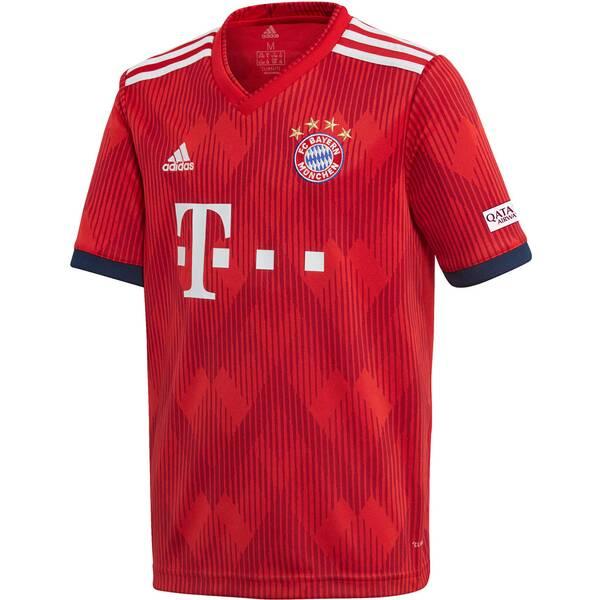 """ADIDAS Jungen Fußballtrikot """"FC Bayern Home Jersey Youth 2018/19"""""""