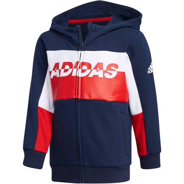 "ADIDAS Jungen Kleinkind Fußball-Trainingsjacke ""Football"""