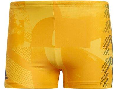 "ADIDAS Herren Badeshorts ""Fitness Placed Print Swim Boxer"" Blau"
