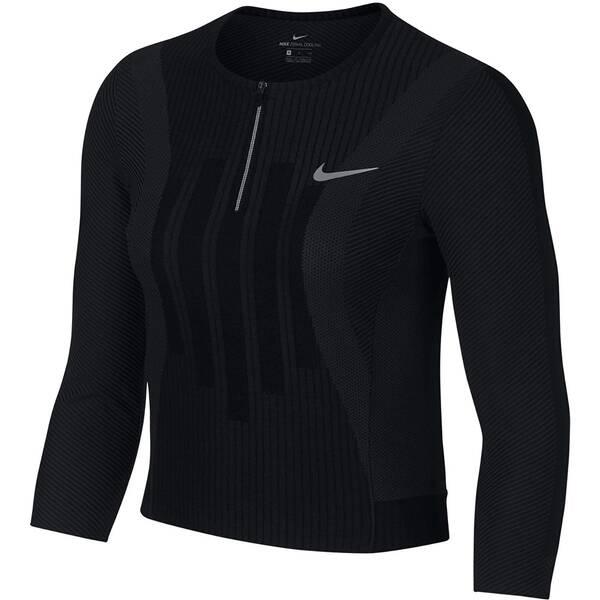 NIKE Damen Tennis-Shirt Court Zonal Cooling Slam