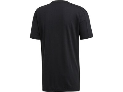 "ADIDAS Herren Trainingsshirt ""ID Stadium Tee"" Schwarz"