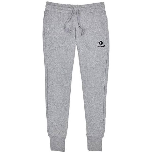 Hosen - CONVERSE Lifestyle Textilien Hosen lang Star Chevron Pant Damen › Grau  - Onlineshop Intersport