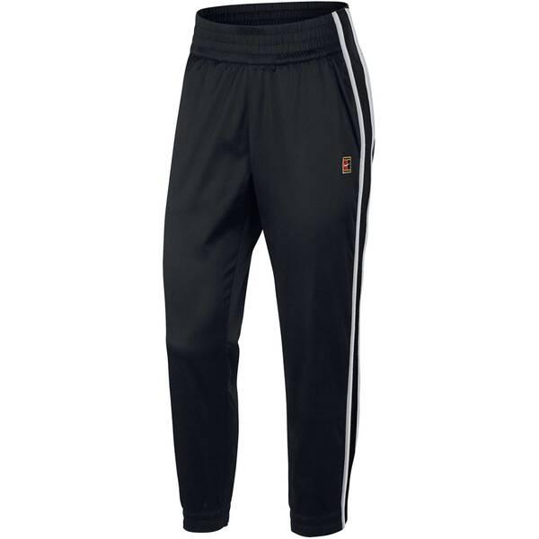 NIKE Damen Tennishose Stadium Pant | Sportbekleidung > Sporthosen > Tennisshorts | Black - White | NIKE