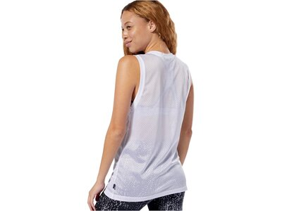 REEBOK Damen Trainingstop Weiß
