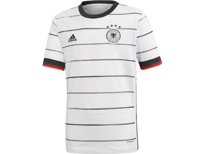 "ADIDAS Kinder Fußballtrikot ""Deutschland Heim EM 2021"" Replica Grau"