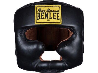 BENLEE Kopfschutz aus Leder FULL FACE PROTECTION Schwarz
