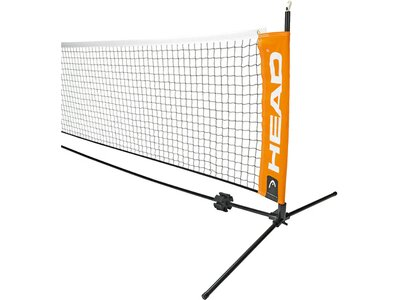 HEAD Mini Tennis Netz 6,1m Schwarz