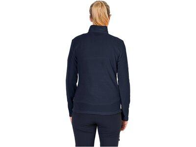 "Damen Fleece-Pullover ""Gecko"" Schwarz"