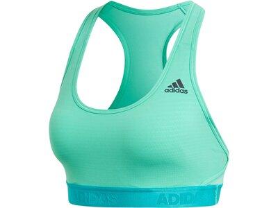 ADIDAS Damen Sport-BH / Bustier Alphaskin Tech Padded Bra Grün
