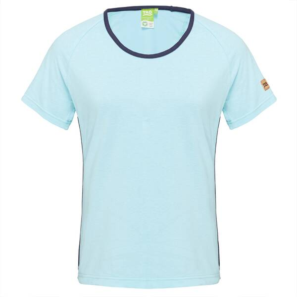 TAO Damen kurzarm Freizeit T-Shirt aus Baumwolle (kbA) CORA