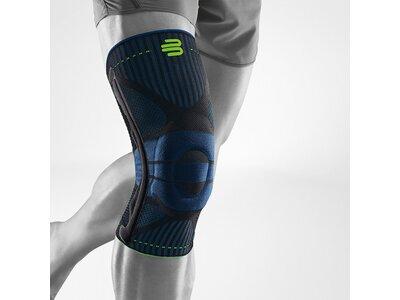 BAUERFEIND Kniebandage, Bandage Knie Sports Knee Support Grau