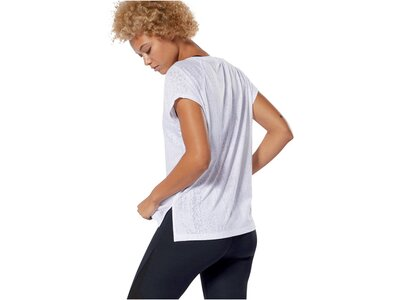 "REEBOK Damen Trainingsshirt ""Burnout"" Kurzarm Grau"