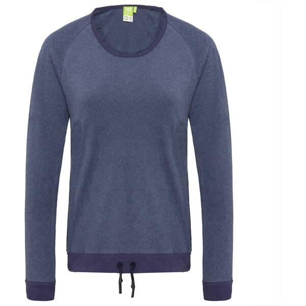 TAO Damen langarm Freizeitshirt aus Bio-Baumwolle COSI