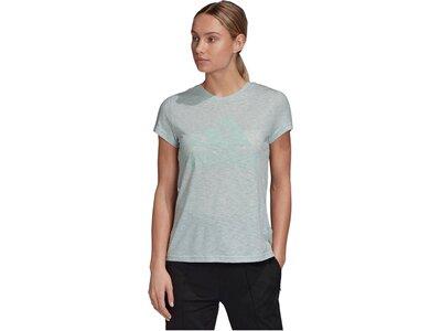 """ADIDAS Damen T-Shirt """"Winners"""" Silber"""