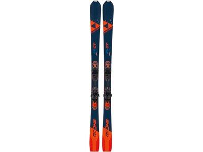"""FISCHER Skier """"RC One 86 GT MF+RSW 12 PR"""" Braun"""