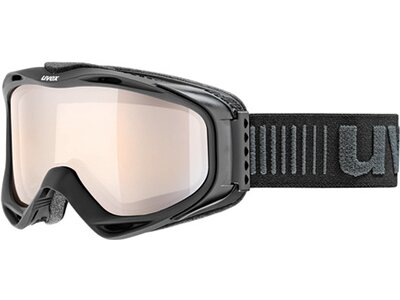 UVEX Ski- und Snowboardbrille g.gl 300 VLM Schwarz