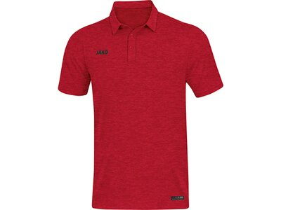 JAKO Herren Polo Premium Basics Rot