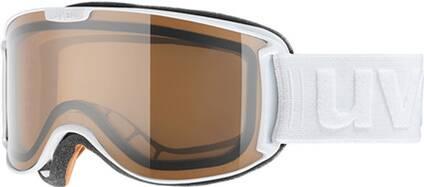 Uvex  Skibrille skyper P black mat dl/pola-clear