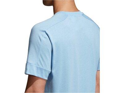 ADIDAS Herren T-Shirt ID Big Logo Blau
