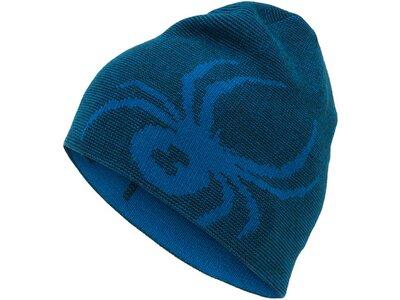 """SPYDER Jungen Mütze """"Revisible Bug Hat"""" Blau"""