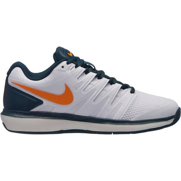 NIKE Damen Tennisschuhe Indoor Air Zoom Prestige Carpet   Schuhe > Sportschuhe > Tennisschuhe   White - Orange   Gummi   NIKE