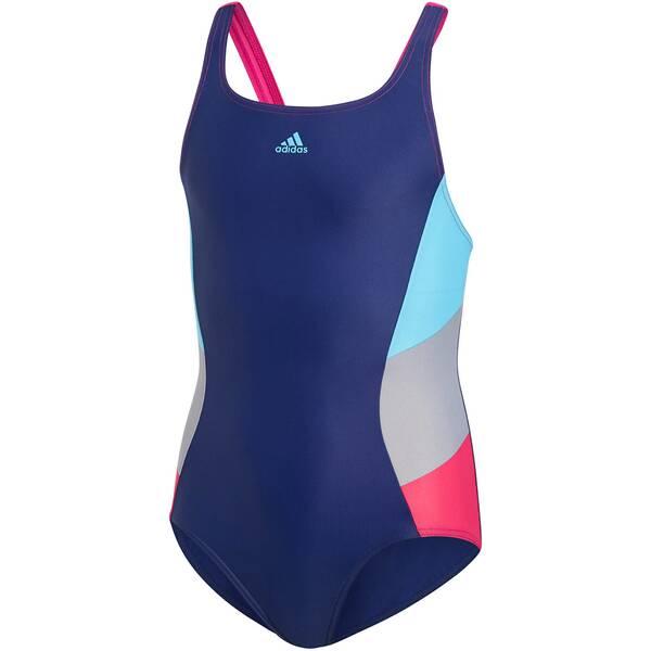 ADIDAS Mädchen Badeanzug Fitness Training Suit Colorblock