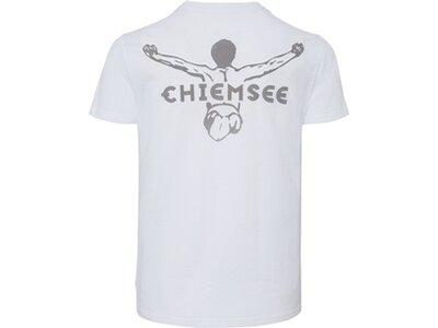 CHIEMSEE T-Shirt mit Rundhalsausschnitt Weiß