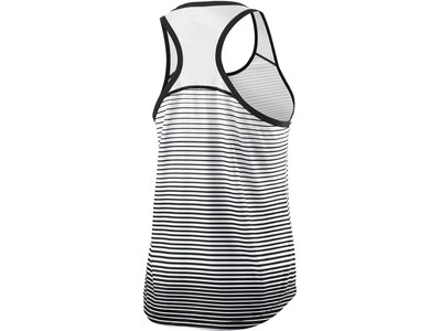 "WILSON Damen Tennis Tanktop ""Team Striped Tank"" Schwarz"