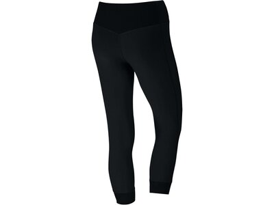 "NIKE Damen 3/4 Trainingstights / Fitnesshose ""Power Legend Training Crop"" Schwarz"