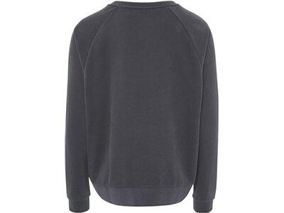 CHIEMSEE Loose Fit Sweatshirt mit großem Chiemsee Frontprint - GOTS zertifiziert Grau