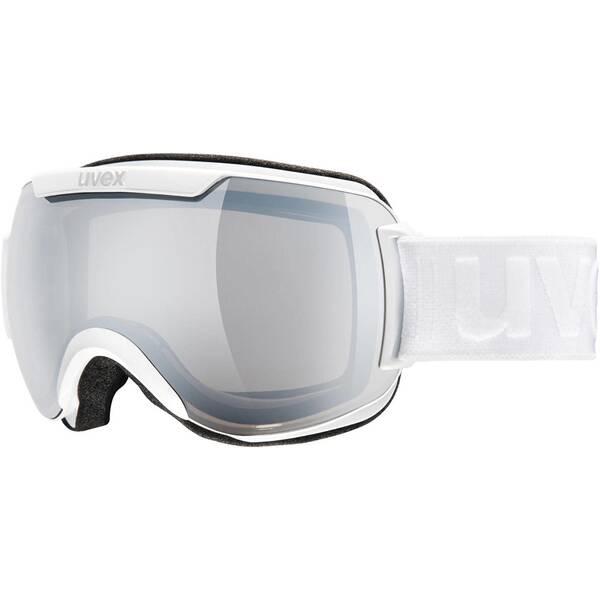 UVEX Ski- und Snowboardbrille Downhilll 2000 white silver   Uhren > Keramikuhren   White   Uvex