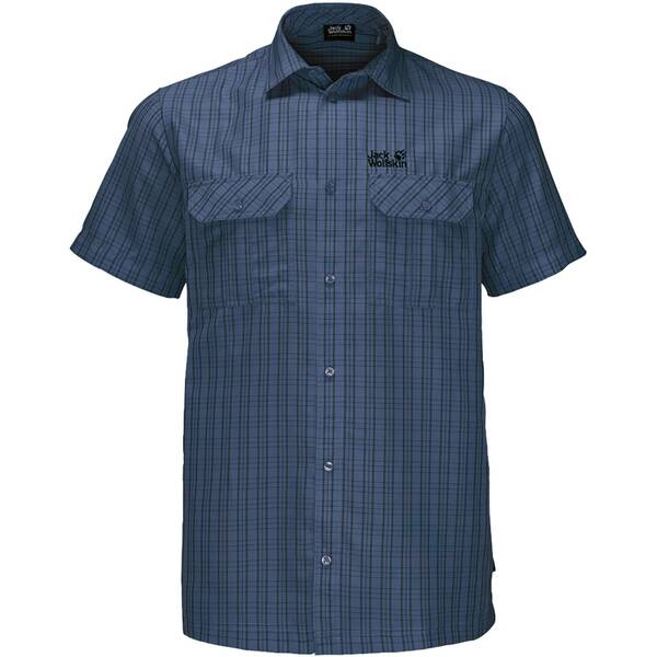 "JACKWOLFSKIN Herren Wanderhemd ""Thompson Shirt Men"" Kurzarm"