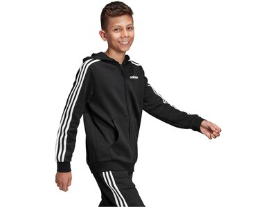 ADIDAS Kinder Sweatjacke Weiß