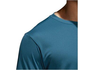 ADIDAS Herren Trainingsshirt Freelift Climachill Blau