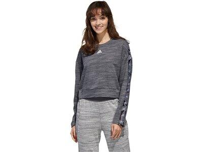 "ADIDAS Damen Sweatshirt ""Women Essentials Tape Sweatshirt"" Grau"