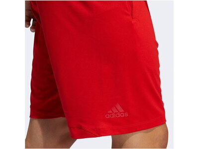 "ADIDAS Herren Trainingsshorts ""4KRFT Sport Graphic Badge of Sport Shorts"" Rot"