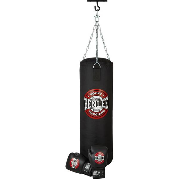 BENLEE Adult Boxing Set THUNDER Schwarz