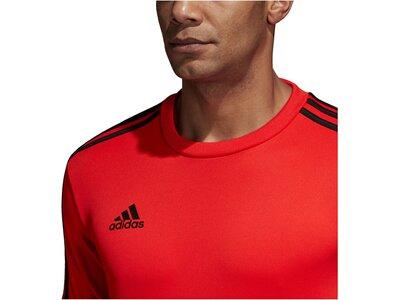 """ADIDAS Herren Fußballshirt """"Tango"""" Langarm Rot"""