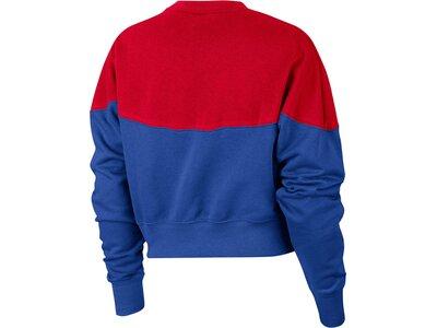 "NIKE Damen Sweatshirt ""Heritage"" Blau"