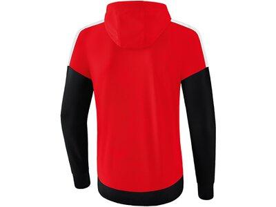 ERIMA Fußball - Teamsport Textil - Jacken Squad Kapuzen-Trainingsjacke Kids Rot