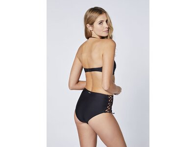 CHIEMSEE High-Waist Bikini-Set mit seitlicher Schnürung Schwarz